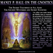 Gnostic Manly P Hall MEME